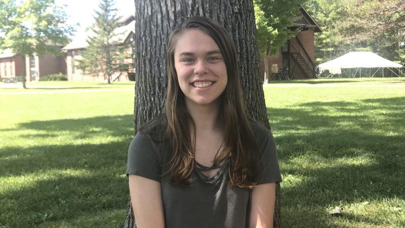 Northland student Danielle Hewitt