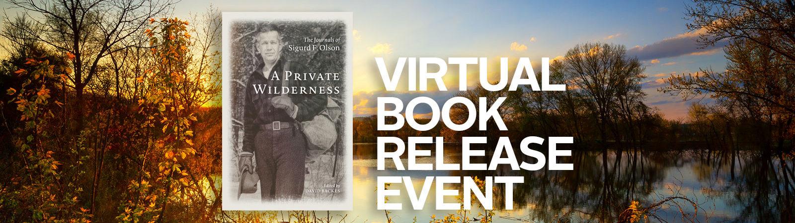 Sigurd Olson Book Release