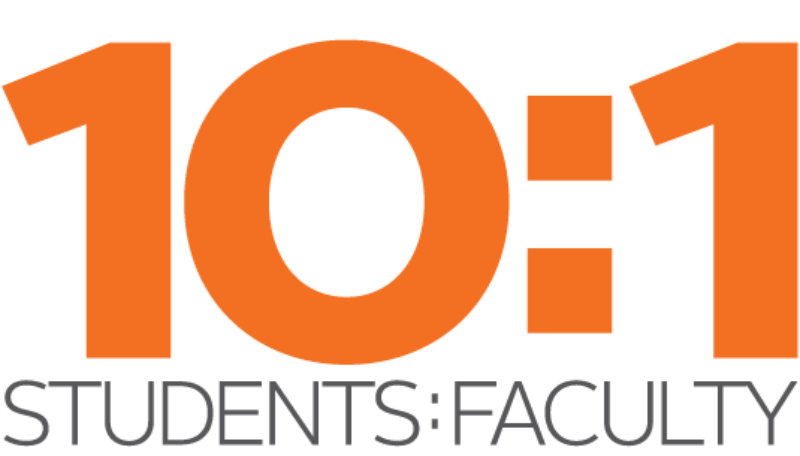 Northland College has a 10:1 student to faculty ratio.