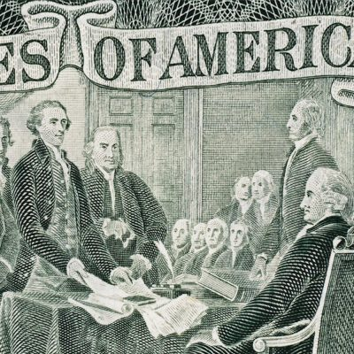 graphic of founding fathers