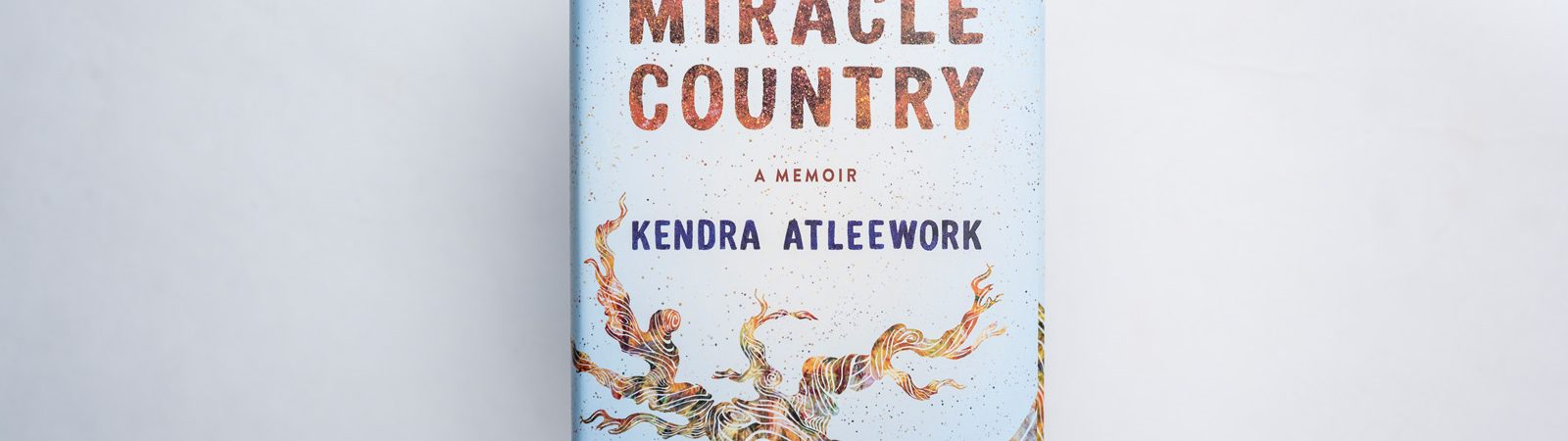 Cover of book, Miracle Country